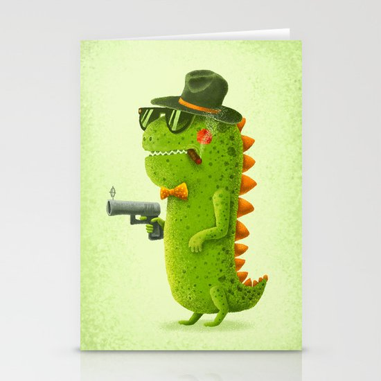 Dino bandito Stationery Cards