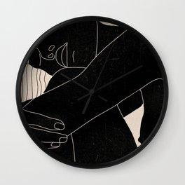 Abstract Art Nude Woman 5 Wall Clock