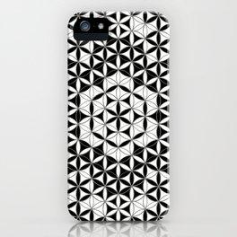 Mandala Star Flower And Crystal Grid iPhone Case