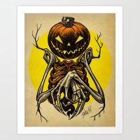 Autumn People 7 Art Print