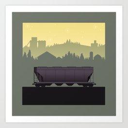 The Lonely Hopper Art Print