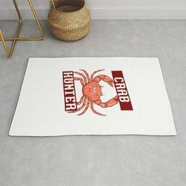 Crab Hunter Rug