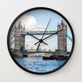 Tower Bridge, London, England Wall Clock