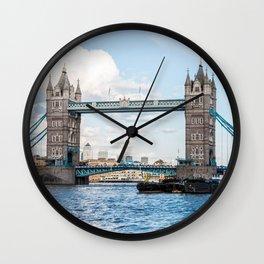 Tower Bridge, London, England Wall Clock