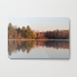 Morning Mist over the lake! Metal Print