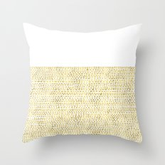 Riverside Gold Throw Pillow