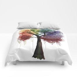 Happy Tree Comforters