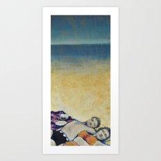 Meik Beach Date  Art Print