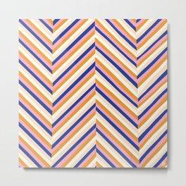chevron stripes, neapolitan Metal Print