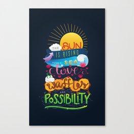 Leslie Knope Poster Canvas Print