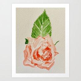 Rose no.3 Art Print