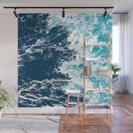 Wave Type Pattern Wall Mural