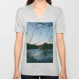 Kingswood Lake Unisex V-Neck