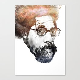 Dr. Cornel Ronald West (born June 2, 1953) Canvas Print