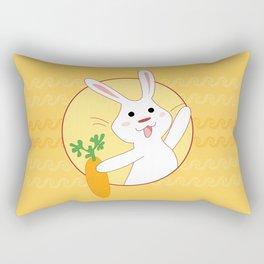 Carrot Time! Rectangular Pillow