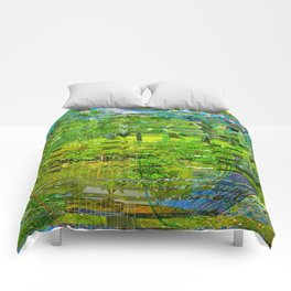 Landscape of My Heart (4 as 1) Comforters
