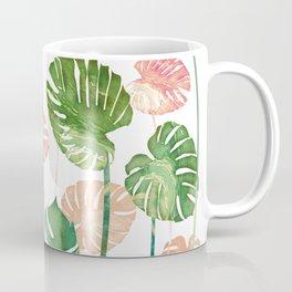 tropical leaves garden Coffee Mug