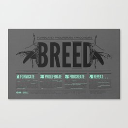 BREED Canvas Print
