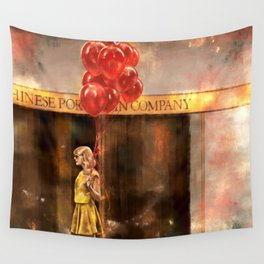 Red (Taylor) Wall Tapestry