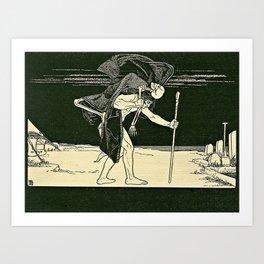 Dybbuk Art Print