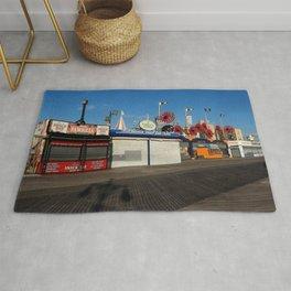 Coney Island Days Photography Rug