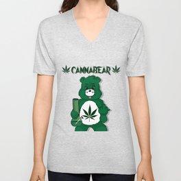 CannaBear Unisex V-Neck