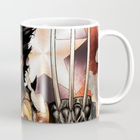 x men Mugs featuring X-MEN by Thorin