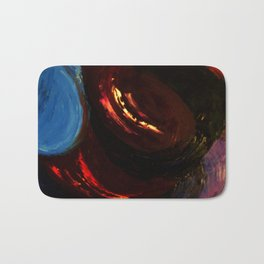 Abstract Untitled by Robert S. Lee Bath Mat