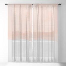 Sand Sheer Curtain