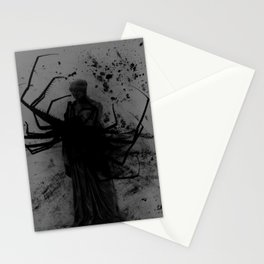 Minerva Discovers Horror Fiction Stationery Cards