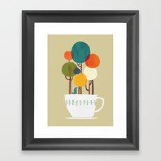 Life in a cup Framed Art Print