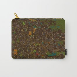 Bangalore old green map Carry-All Pouch