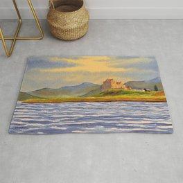 Duart Castle Isle Of Mull Scotland Rug