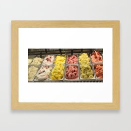 Ice.Cream  Framed Art Print