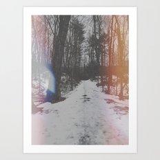 Huntington Park. Art Print