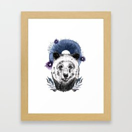 The Bear (Spirit Animal) Framed Art Print