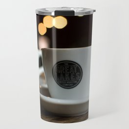 """there's too much caffeine in your bloodstream"" Travel Mug"