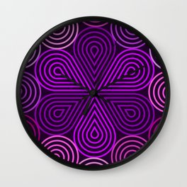 Op Art 177 Wall Clock