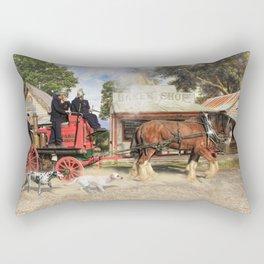 Fire Fire Rectangular Pillow