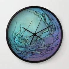 Abstract fantasy Wall Clock