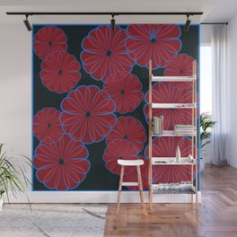 PureRed Wall Mural