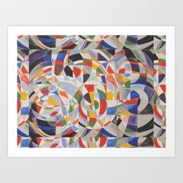 Pretty Mosaic Art Print