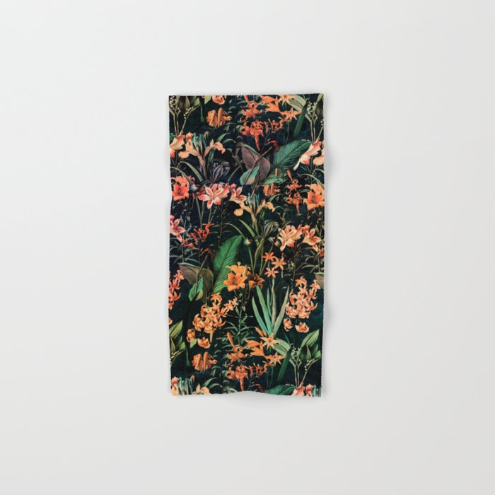 Exotic Garden Hand & Bath Towel
