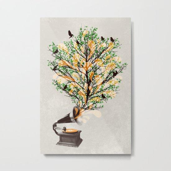 Sound of Nature Metal Print