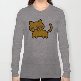 toothcat (ylw) Long Sleeve T-shirt