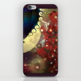 The Star Voyage by Balloon iPhone Skin