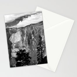 Mountains of Yosemite National Park  Stationery Cards