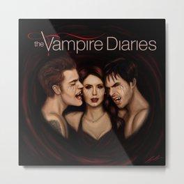 vampire diaries Metal Print