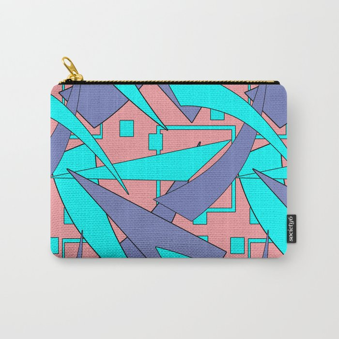 Creative abstract pattern . Geometric shapes . Carry-All Pouch