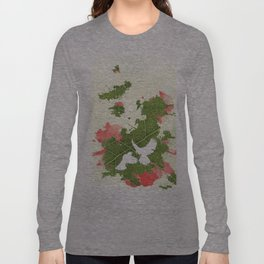 Leaf Bird Long Sleeve T-shirt